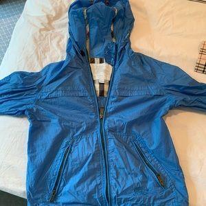 Boys Burberry rain jacket